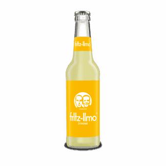 Fritz Limo citron flaske