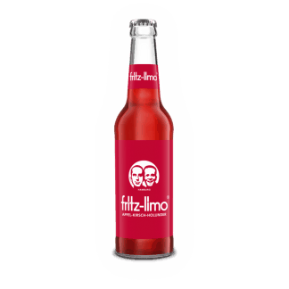 Fritz Limo kirsebær 0,33 flaske