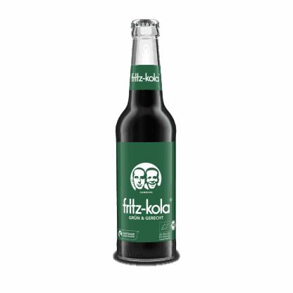 Fritz Kola økologisk fairtrade 0,33 flaske