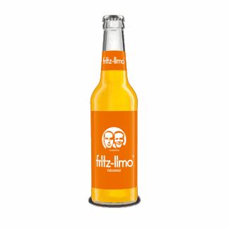 Fritz Limo appelsin flaske