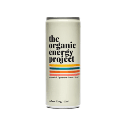The Organic Energy Project dåse front